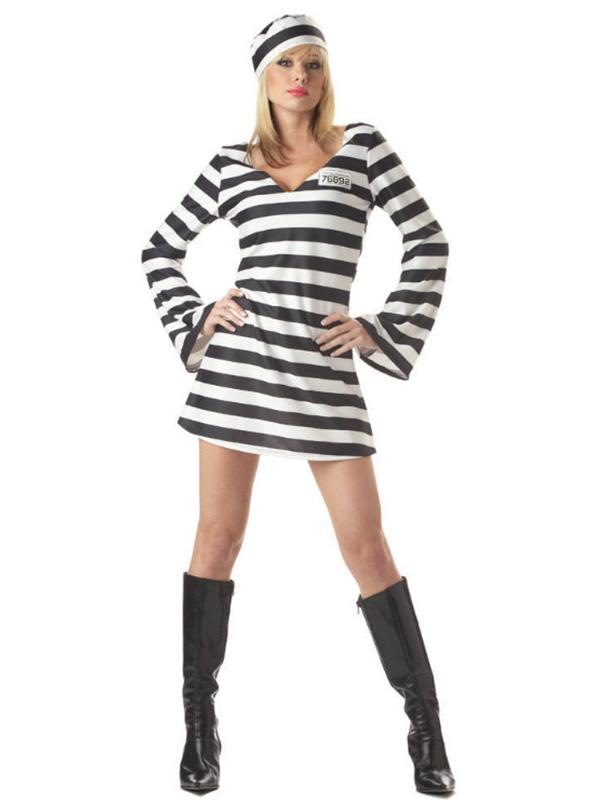 Disfraz Chica Convicta