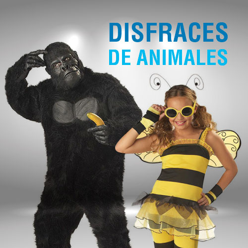 disfraces de animales chocoexpress