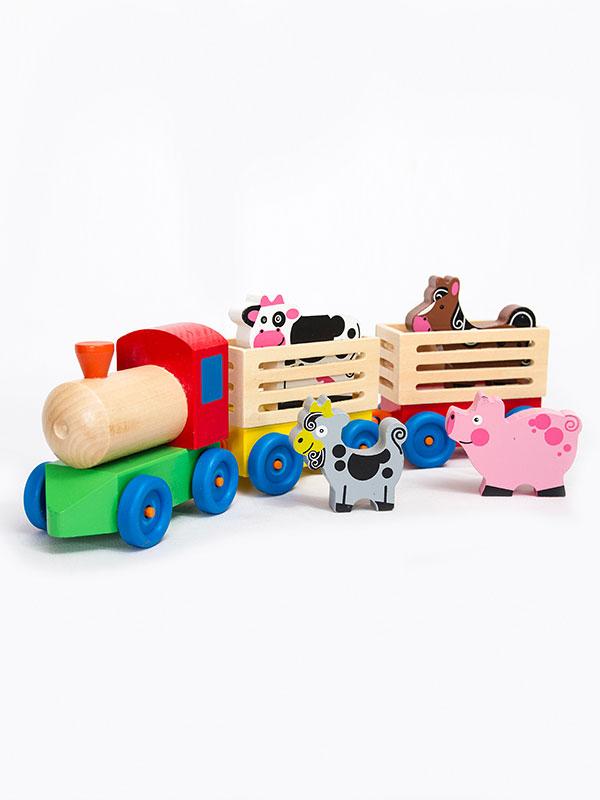 tren de madera chocoexpress