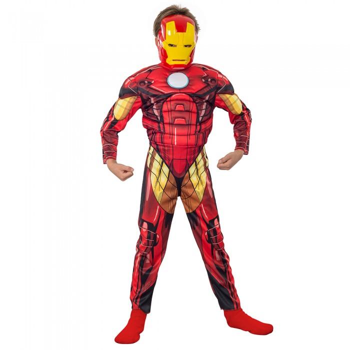 Disfraz Iron Man -Choco Express Disfraces Niños pelucas gorros guantes d35ef59c2ea