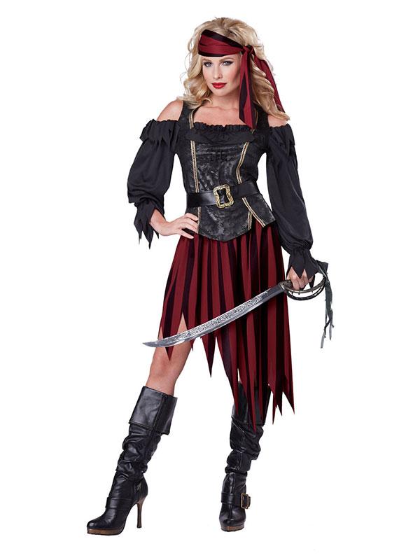 Queen Of The High Seas - Choco Express Disfraces - disfraz mujer pirata bcf00f1c9b7a