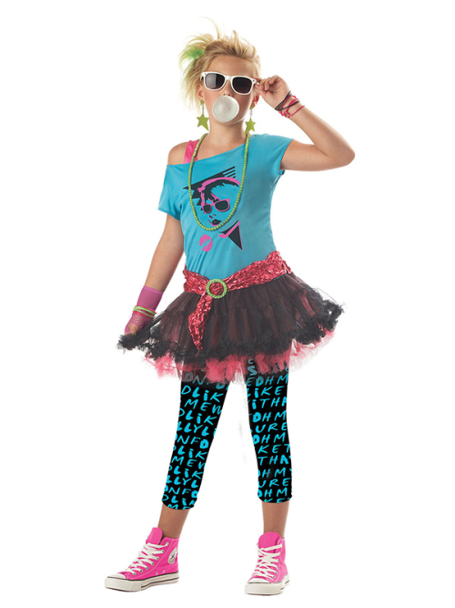 80 valley girl - Choco Express Disfraces - disfraces niñas - 80s ... a526a72c333