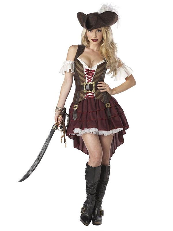 Disfraz pirata mujer - Chocoexpress - Pelucas - Gorros - Sangre falsa bb0e24dbb36